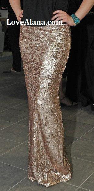 25  best ideas about Long sequin skirt on Pinterest | Sequin maxi ...