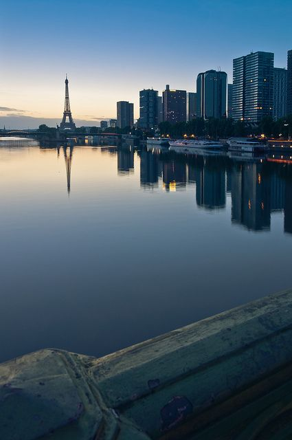 Paris in Dawn by StylelaB on Flickr.