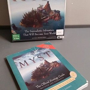 MYST the original game before RIVEN PC adventure