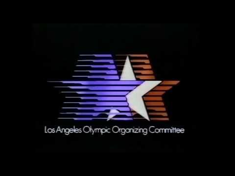 The Basement Tapes   Ed Kramer   1984  Olympics Los Angeles Last tribute to the 2016 Summer Olympics! 1982 Scanimate logo for the 1984 LA Olympics. Art Direction by Gary McKinnon. With special guest piano accompaniment!
