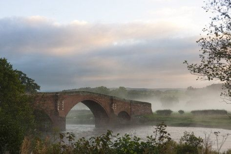 Eden Bridge, Lazonby, Eden Valley, Cumbria, England by James Emmerson