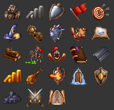 Game icons by Rav3nway.deviantart.com on @deviantART