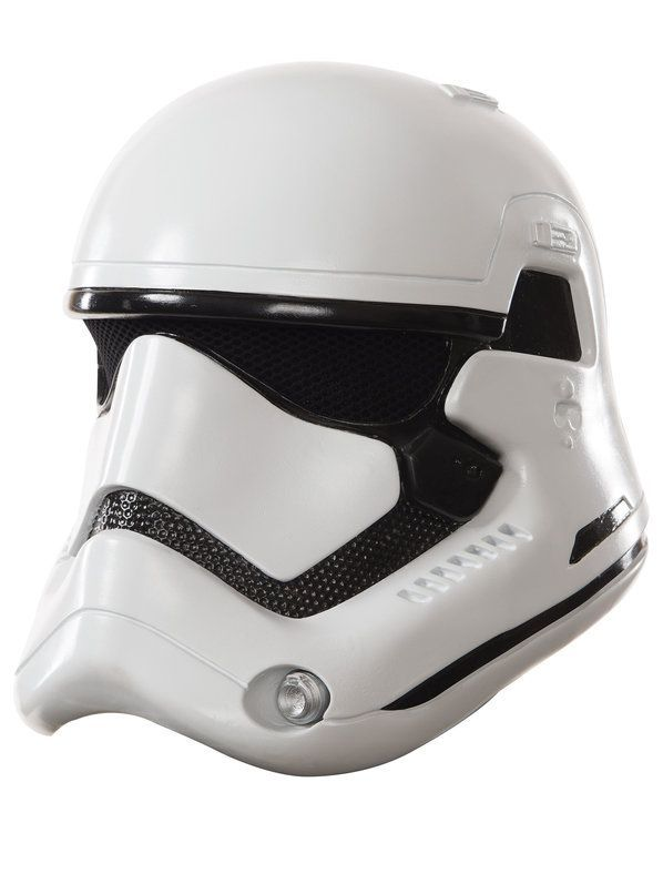 Adult SNOWTROOPER Star Wars The Force Awakens Half Mask Helmet