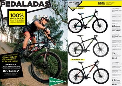 Corte Ingles: Catálogo de Bicicletas y Accesorios,...