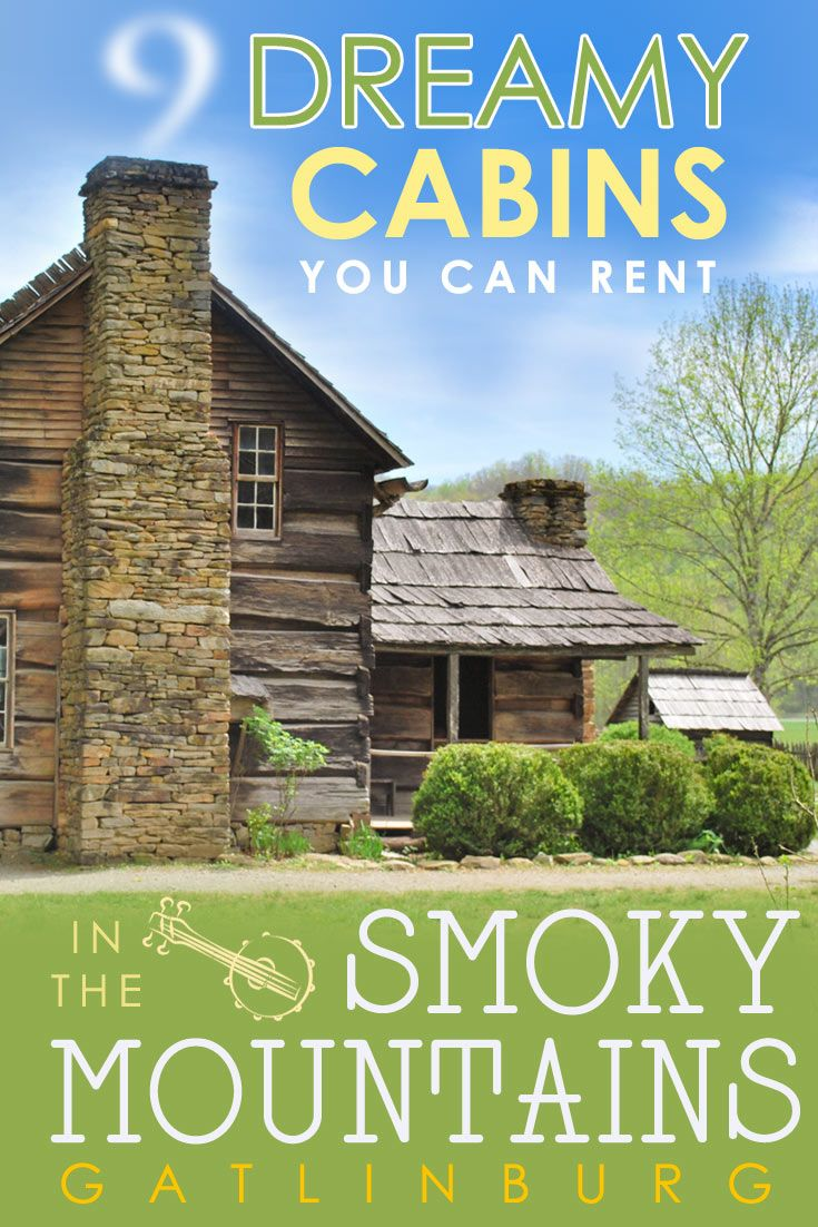 9 dreamy cabin rentals in Gatlinburg TN. Check out some of the finest Gatlinburg cabins and plan your next Smoky Mountain getaway! via @travel4wildlife