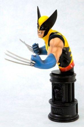 Wolverine Yellow Costume Fine Art Bust