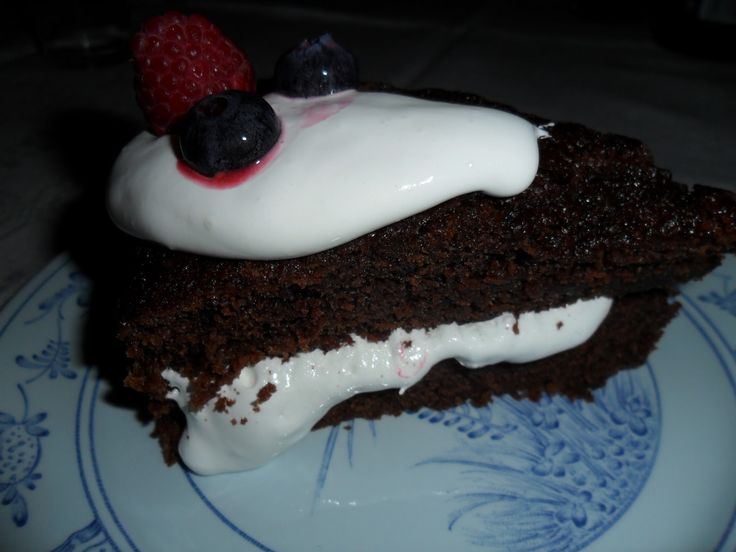 Chokladtårta med Marshmallowfluff