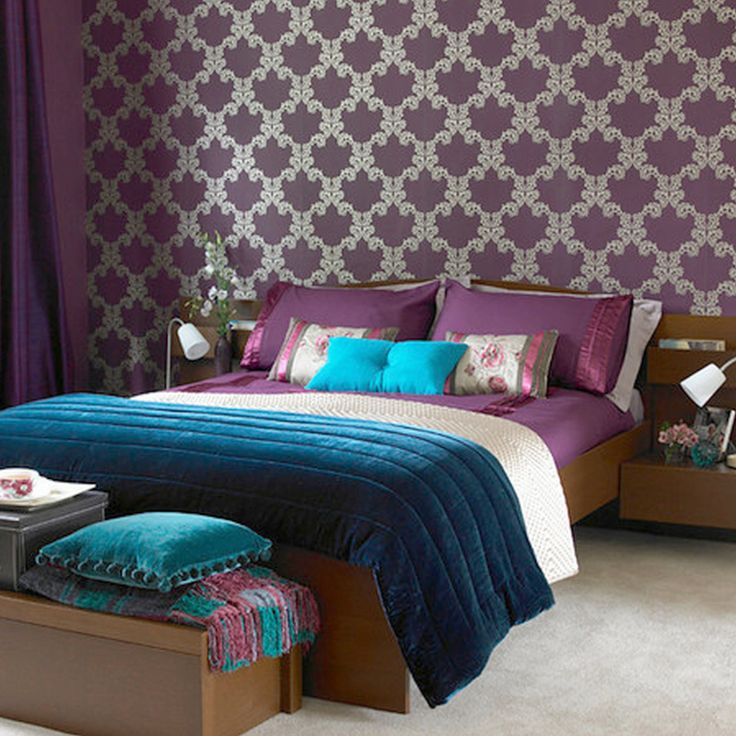 Best 25+ Purple Teal Bedroom Ideas On Pinterest