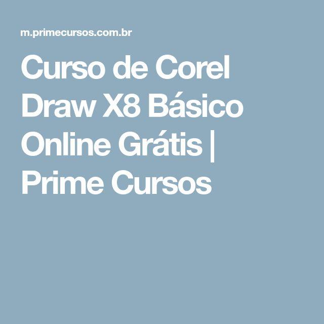 Curso de Corel Draw X8 Básico Online Grátis   Prime Cursos
