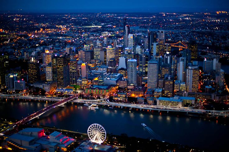 My obsession with Australia grows every time I see a new picture of another beautiful city that I will visit some day! Brisbane, Australia