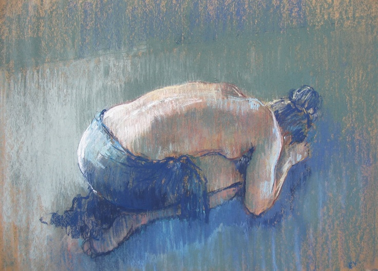 pastel by Eva Vorfeld