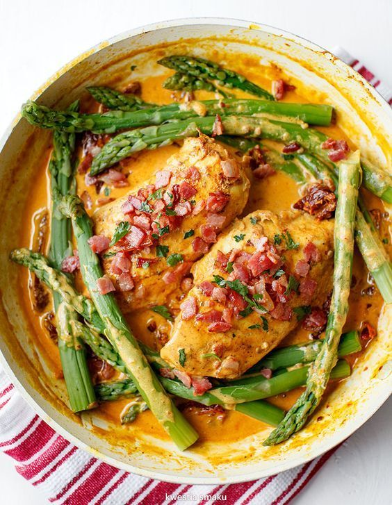Kurczak w sosie z suszonymi pomidorami