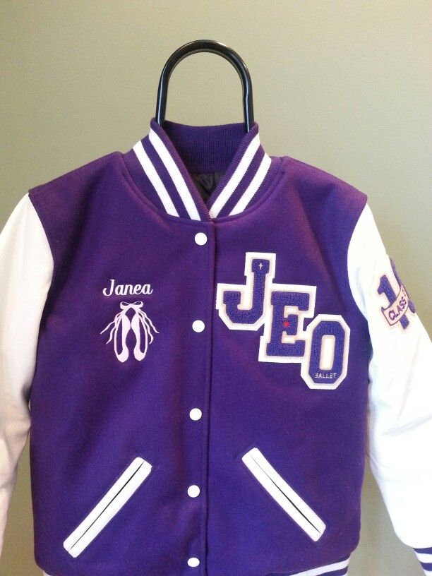 Letterman jacket homeschool