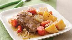 Slow Cooker Pot Roast and VegetablesPot Roast, Crockpotslow Cooker, Pots Roasted, Meals, Crock Pots, Vegetables Recipe, Roasts, Favorite Recipe, Cooker Pots