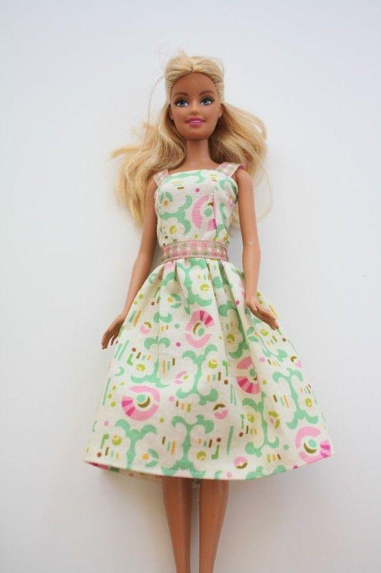 DIY Barbie clothes tutorial