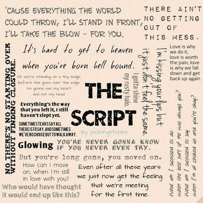 The Script Lyrics