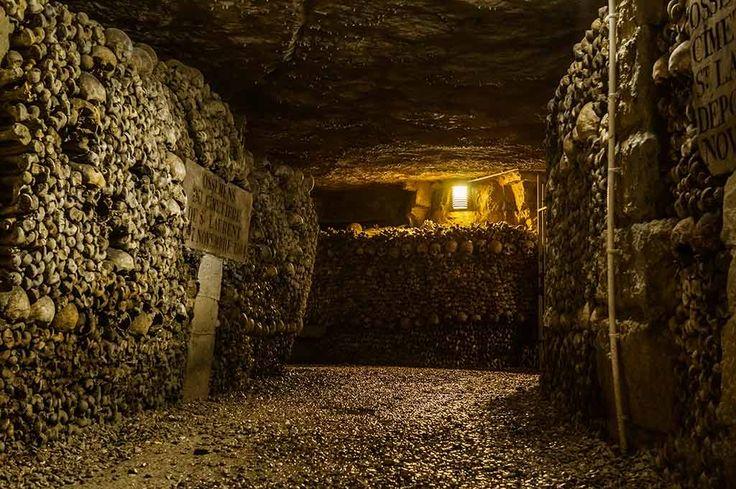 Die gruseligsten und Orte der Welt Katakomben von Paris Horror-Fakten