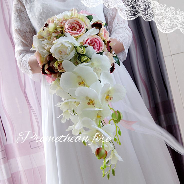 Cheap bridal flowers, Buy Quality wedding bouquet directly from China bouquet de mariage Suppliers: 			Size:22*46cm		  	  		Shipping/Color/Tariffs/Custom	A: As it is international shipping service, delivery tim