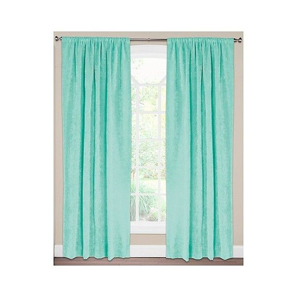 Siscovers Padma Spa Curtain Panel (€88) ❤ liked on Polyvore featuring home, home decor, window treatments, curtains, spa, target curtain panels and target curtains