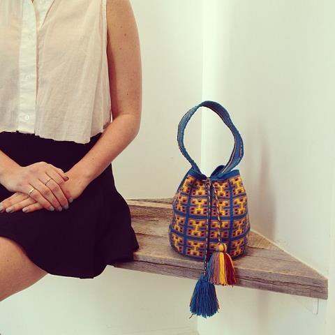 mini wayuu bag!!! #wayuumochila #poshavenue