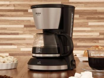 Cafeteira Elétrica Philco PH14 PLUS 14 Xícaras - Inox Preto Fosco e Prata