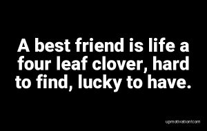 A best friend is life a four image