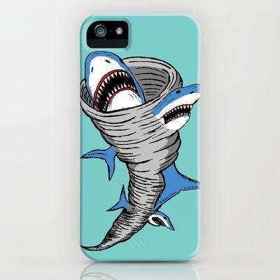 Shark Tornado iPhone & iPod Case #Sharknado @Brenna Farquharson Nance @Heather Creswell Creswell Kradle