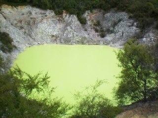 Thermal wonderland, New Zealand