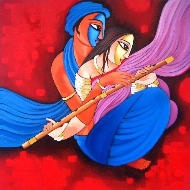 Indian Figurative Painter   Sekhar Roy