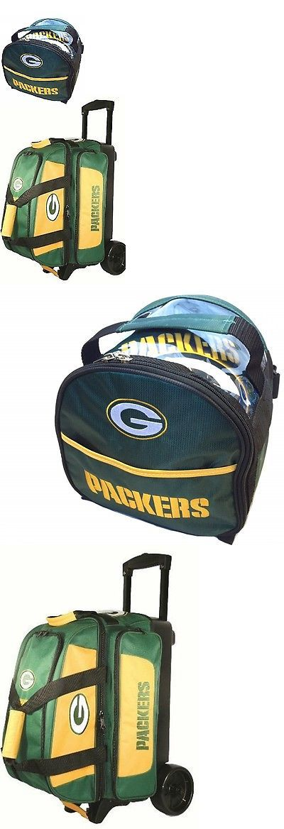 2 Balls 71095: Nfl Green Bay Packers 2 Ball Roller Bowling Bag With Wheels And 1 Add On Bag -> BUY IT NOW ONLY: $93.95 on eBay!