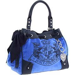Blue Juicy Couture Bag, changing my baby bag now! lol