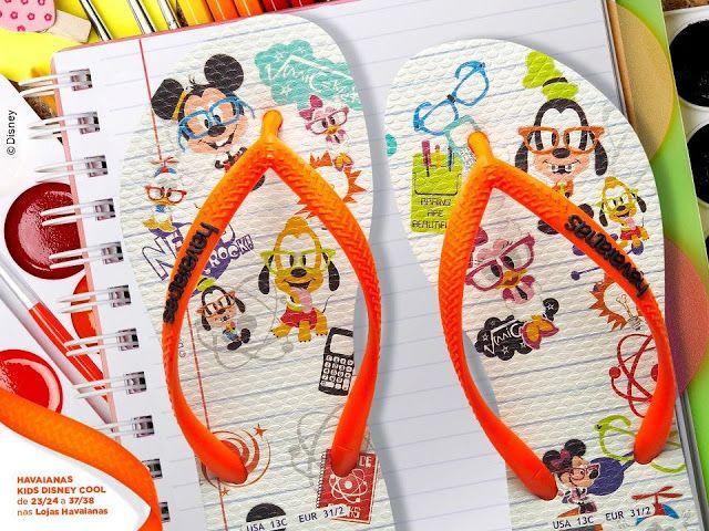 Havaianomaníacos: Coleção 2014: Havaianas Kids Disney Cool