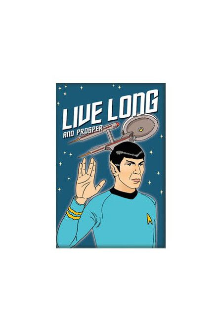 The Found Long Live and Prosper Magnet