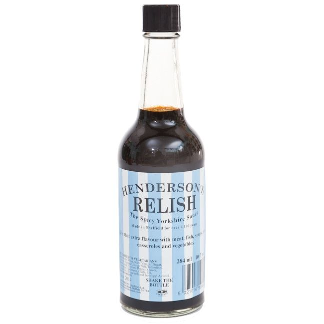 Ha! Awesome! The best of both...! :-)    Henderson's Relish (Sheffield Wednesday label)