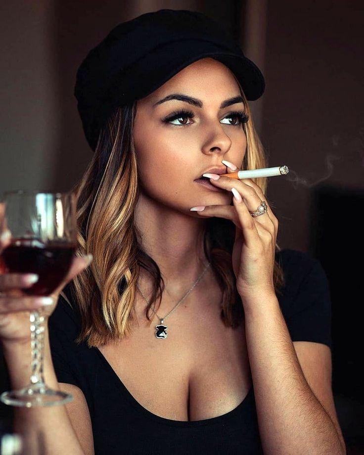 Pin on Beautiful Smoking Women