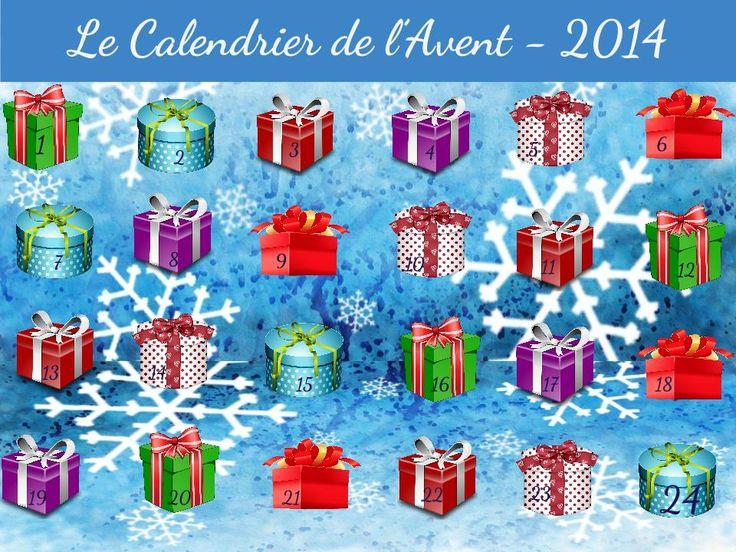 TOUCH this image: Le Calendrier de l'Avent en images et vidéos! by MVHSFrench
