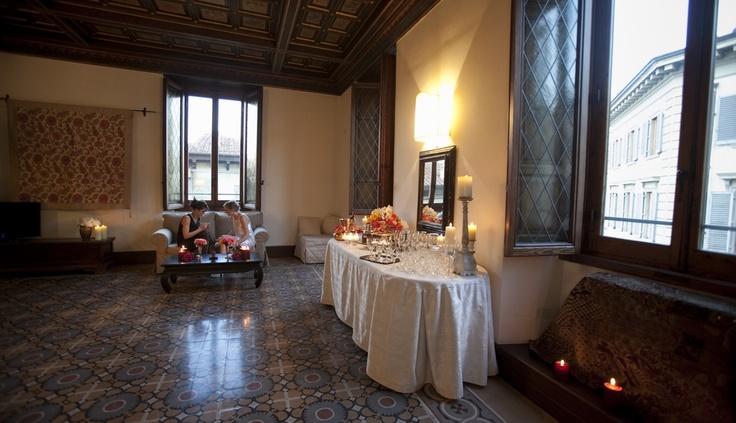 The hall in Santa maria apt