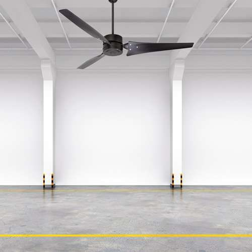"Emerson industrial ceiling fan, 60"", for high ceilings, $200"