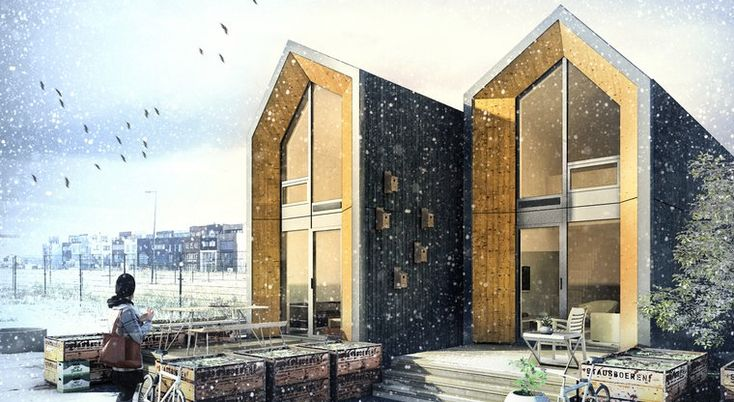 Movable homes for young people could fill derelict lots in expensive cities