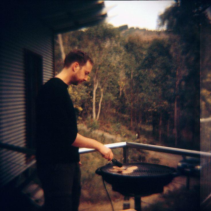 Jeremy cooking my breakfast !