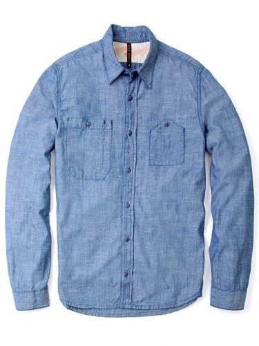 Nudie Jeans Organic Chambray Work Pocket Shirt