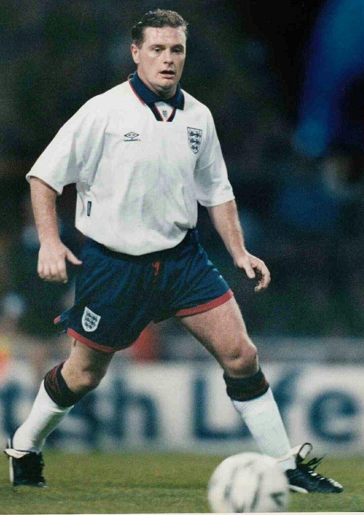 Paul Gascoigne of England in 1991.