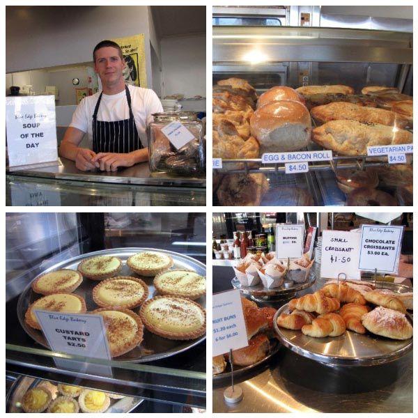 Bicheno Bakery. Article by Margaret Morgan of Sheoaks on Freycinet B&B for Think #Tasmania.
