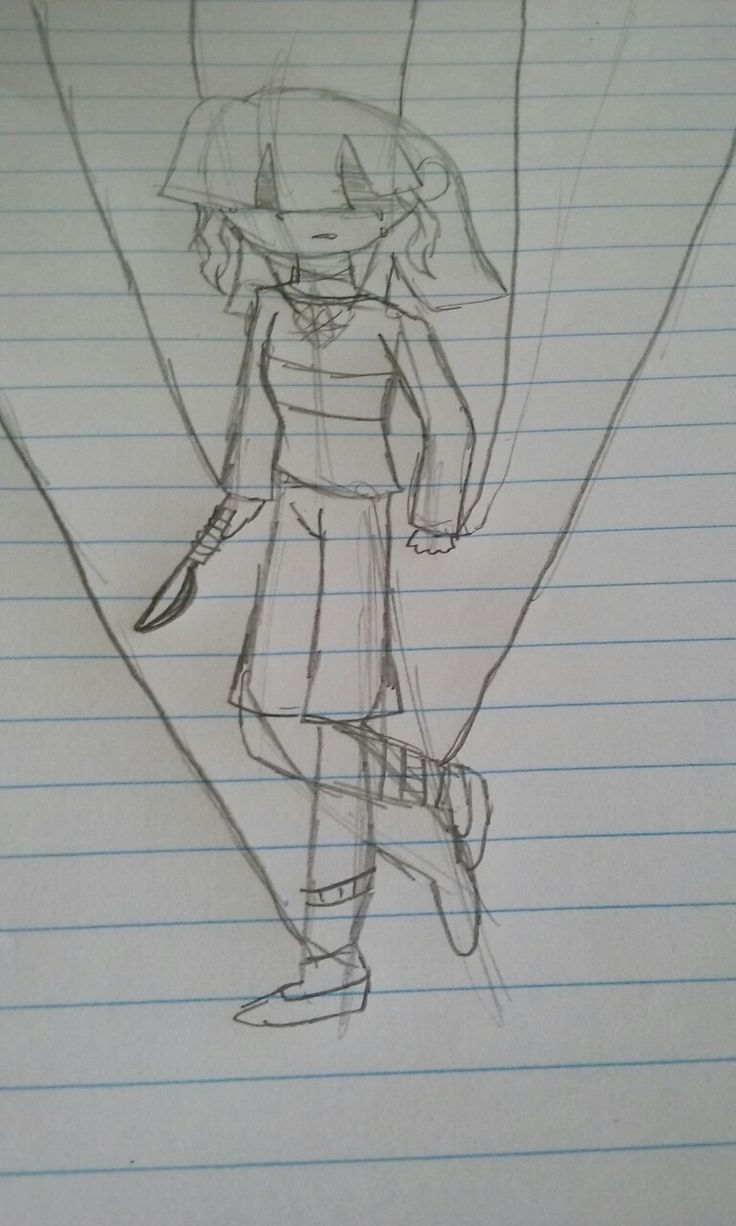 """An unfinished drawing. I drew this in English and once i got to this point i asked myself """"Why does my brain think of this stuff?"""""""