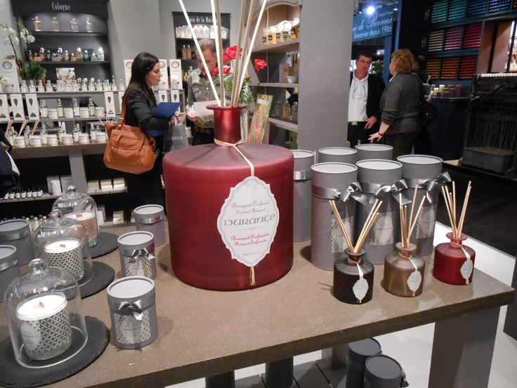 Durance Candles And New Diffusers Packaged In Grey With