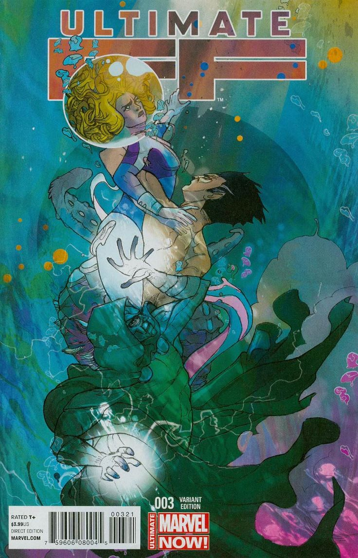 Ultimate FF #3 Cover B Incentive Christian Ward Variant Cover
