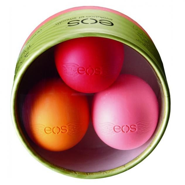 the eos rachel roy limited edition lip balm sphere collection makes for a great stocking stuffer for your best friends or family members
