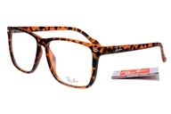 If i ever need new glasses.... Ray-Ban Square 2428 Leopard Grain Frame Transparent Lens RB1129 my-style