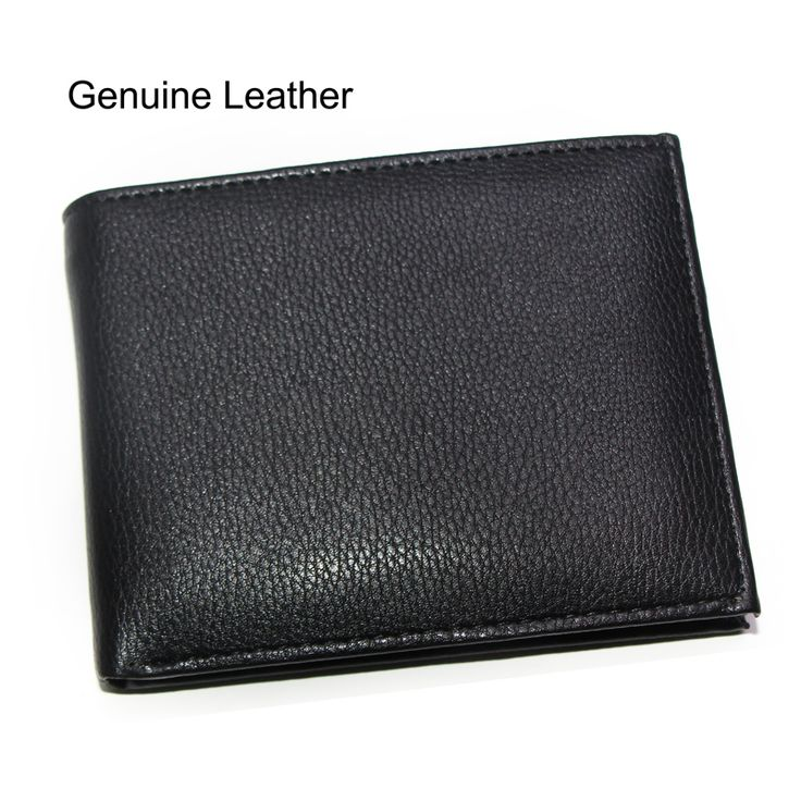 Fashion Genuine Leather Men Wallets Cross Vertical Black Brown Driver License Coin Pocket Card Holder Purse Wallet Free Shipping #shoes, #jewelry, #women, #men, #hats, #watches