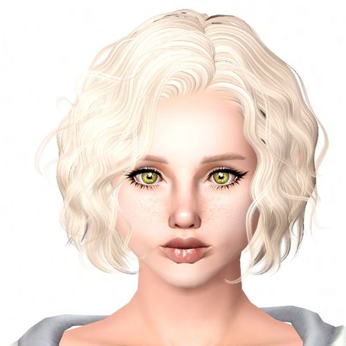 Newsea`s Foam Summer hairstyle retextured by Sjoko for Sims 3 - Sims Hairs - http://simshairs.com/newseas-foam-summer-hairstyle-retextured-by-sjoko/